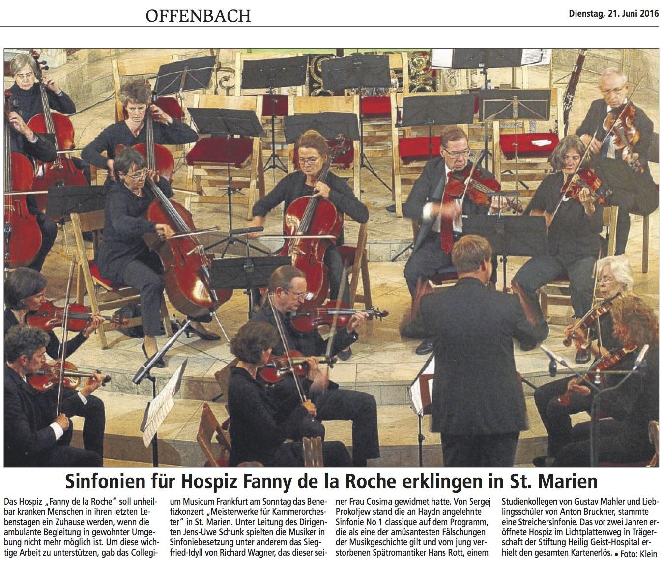 Konzertkritik Offenbach